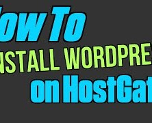 How To Install WordPress on Hostgator (Web Hosting)