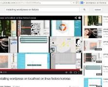 installing wordpress on fedora 19