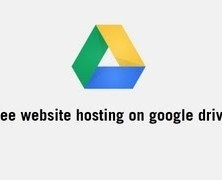 Free website hosting on google drive in 2 minutes