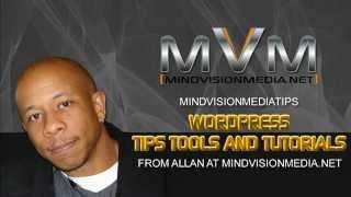 WordPress Training with MindVisionMediaTips
