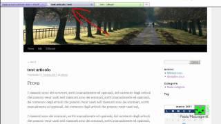 Tutorial Italiano per principianti su WordPress wp - login, articoli, formattazione testo