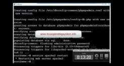 How to install Lamp Apache, MySQL, phpmyadmin ubuntu 14.10 server
