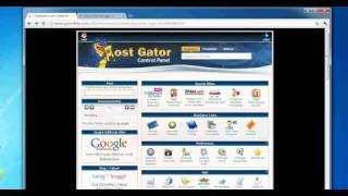 HostGator cpanel overview