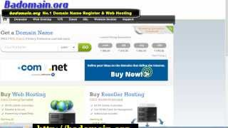 Cheap domain name registration best web hosting Google page one ranking SEO company