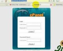 Login to cpanel and upload file