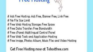 free ad free hosting