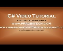 Part 8 – C# Tutorial – Arrays in C#.avi