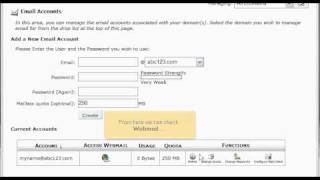 How To Create Professional Email Accounts In cPanel | Website Hosting Tutorial